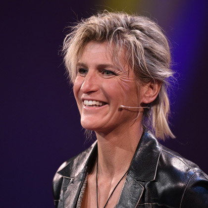 Evelyne Binsack Referenten-Agentur Meet Live