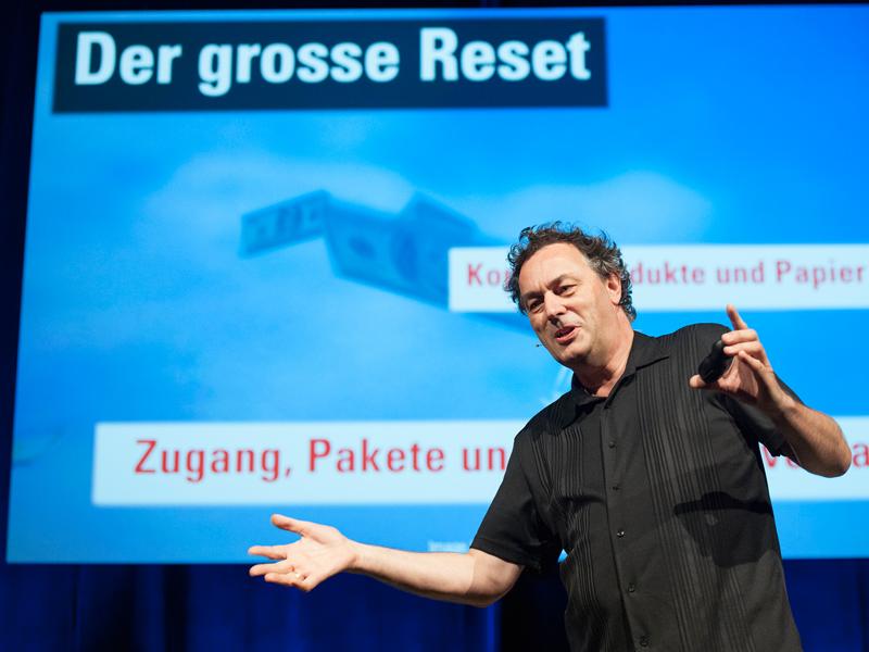Gerd Leonhard MEET Live Referenten-Agentur