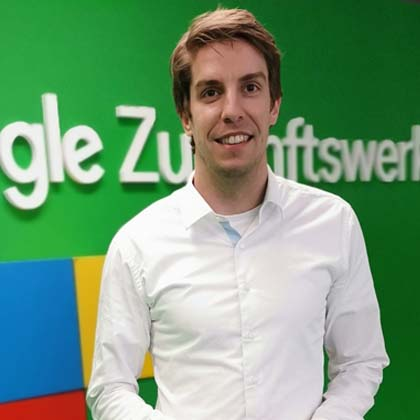Sebastian Decker Google Zukunftswerkstatt Meet Live Redneragentur