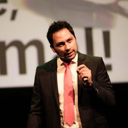 Verkaufsexperte Daniel Enz als Redner buchen Meet Live Redner-Agentur