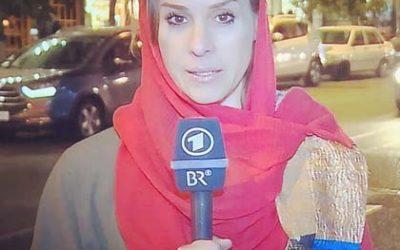 Natalie Amiri: Die mutige Frau, die offen über Macht und Ohnmacht in Iran spricht.